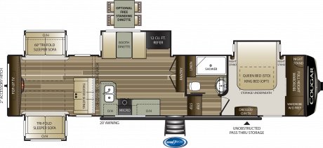 Cougar 366RDS FIFTH WHEEL