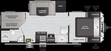 Keystone RV BULLET 250BHS TRAVEL TRAILER 2021