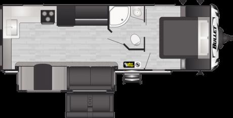 Keystone RV BULLET 258RKS TRAVEL TRAILER 2021