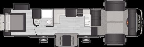 Keystone RV COUGAR 354FLS FIFTH WHEEL 2021