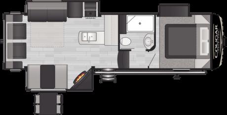 Keystone RV COUGAR 27SGS FIFTH WHEEL 2021