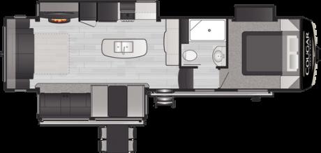 Keystone RV COUGAR 30RLS FIFTH WHEEL 2021