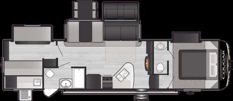 Keystone RV COUGAR 32BHS FIFTH WHEEL 2021