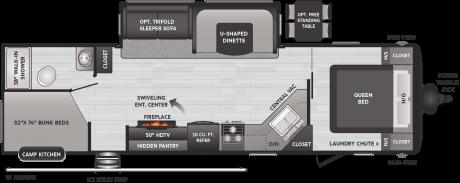 Keystone RV HIDEOUT 29DFS TRAVEL TRAILER 2021