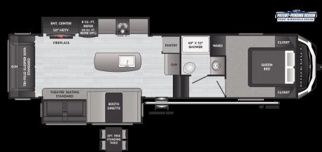 Keystone RV HIDEOUT 300RLDS FIFTH WHEEL 2021