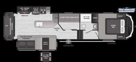 Keystone RV HIDEOUT 320MBDS FIFTH WHEEL 2021