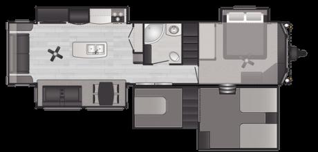 Keystone RV RETREAT 39FLFT DESTINATION TRAILER 2021