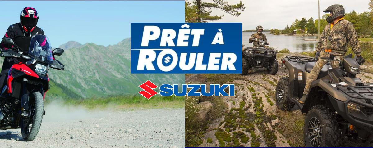 La vente d'été Prêt à rouler de Suzuki