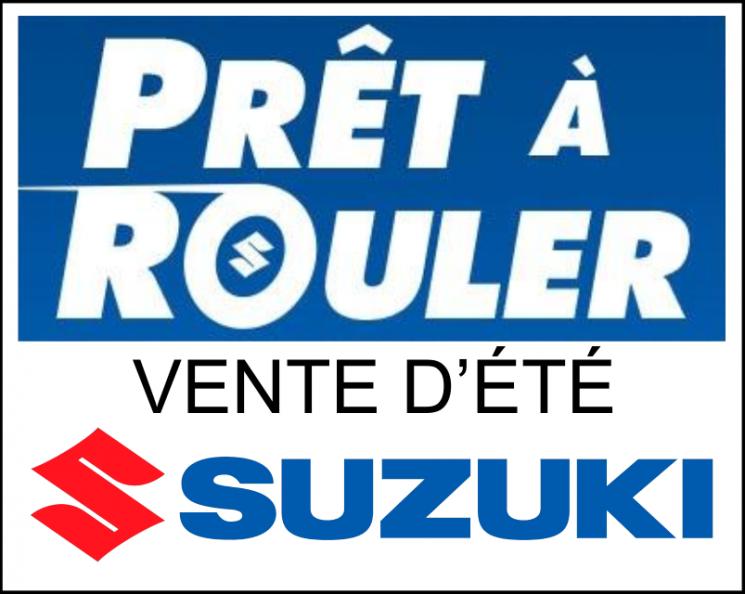 La vente d'été de motos Suzuki Prêt à rouler