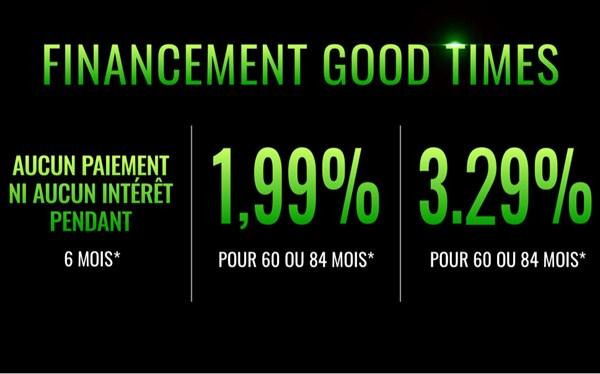 Offre de financement Good Times – VTT