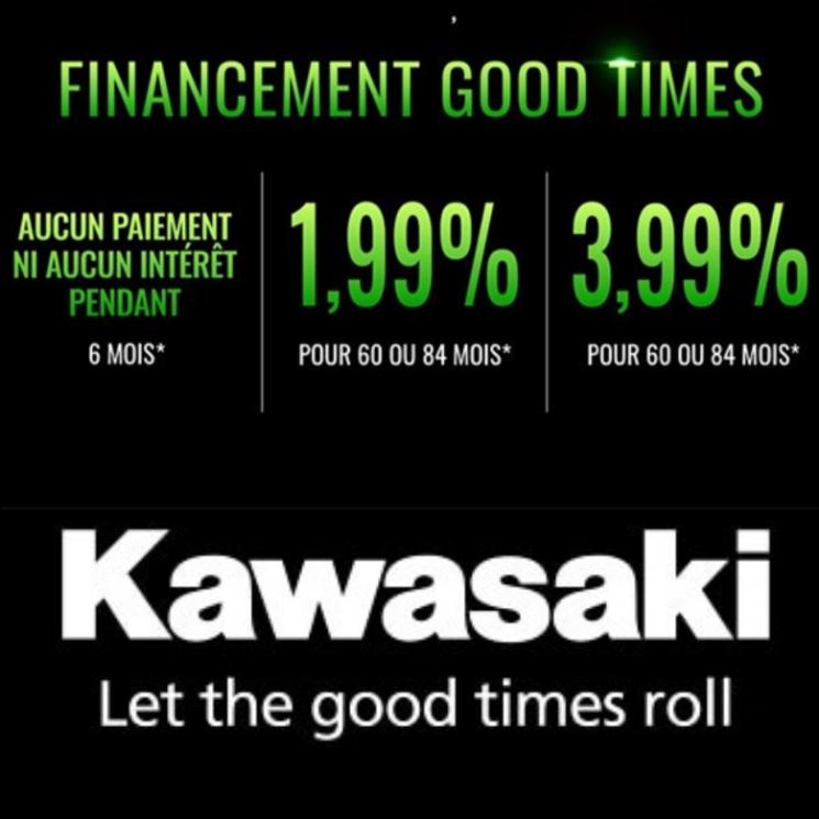 OPTIONS DE FINANCEMENT GOOD TIMES – Véhicules côte à côte